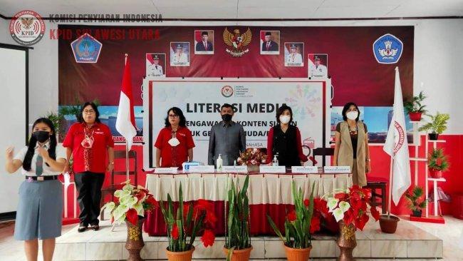 KPID Sulut Edukasi Siswa di Kabupaten Minahasa Terkait Memilih Siaran Sehat