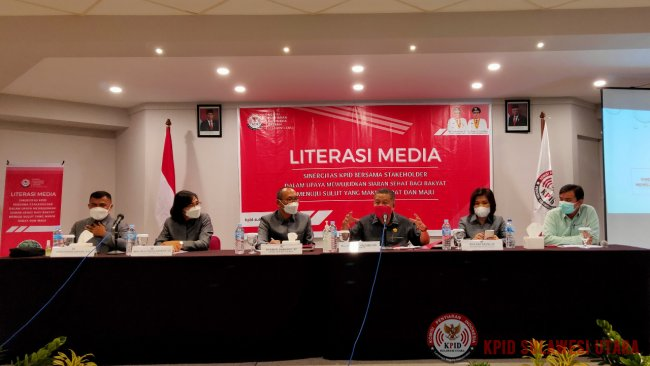Melalui Literasi Media, KPID Sulut Bersinergi Bersama Stakeholders Dalam Upaya Mewujudkan Siaran Sehat